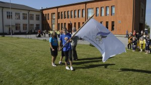 Olümpiaakadeemia lipu sissetoomine