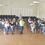 Pärast ringkäiku koolimajas koguneti aulasse