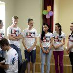 Tšehhi meeskond laulmas