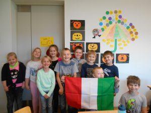 Vahva oli saada sõpradelt kingituseks Itaalia lipp