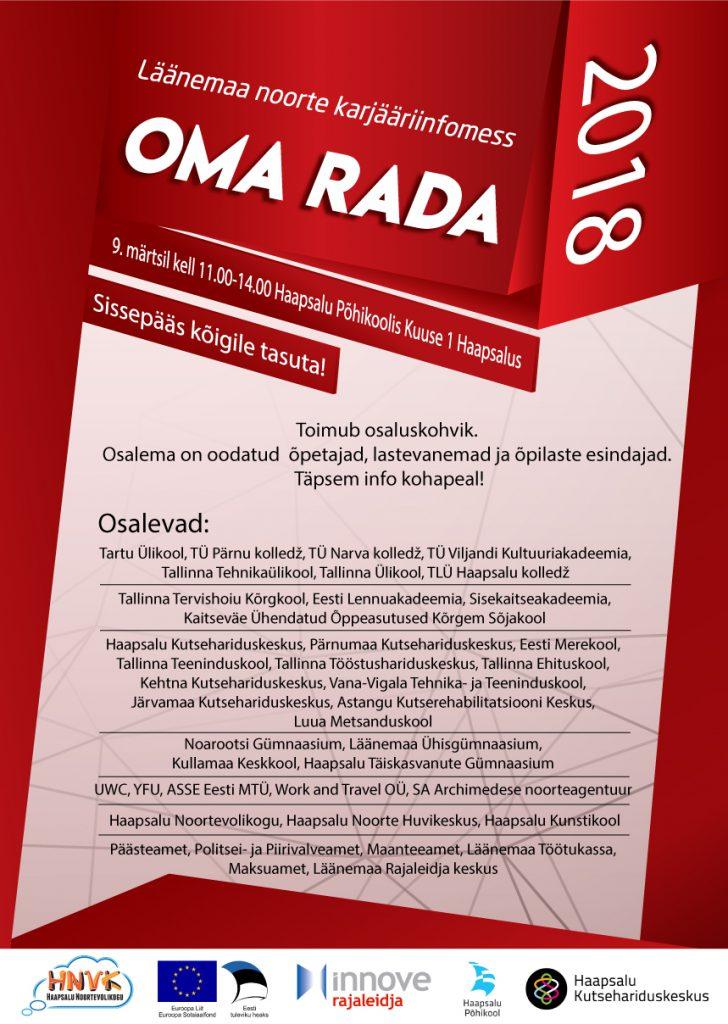 Oma Rada 2018