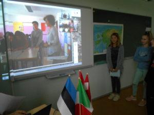 Itaalia kooli õpilased püüavad ära arvata meie kooli asukohta